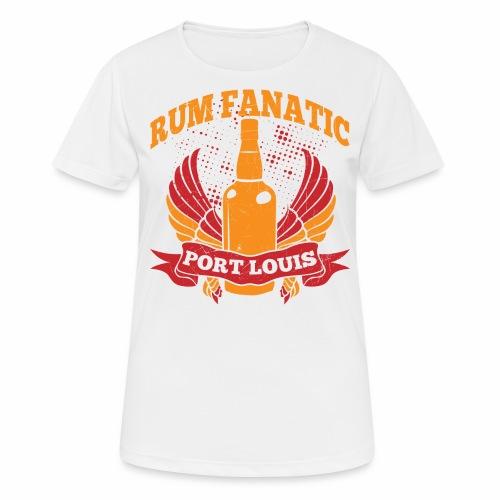 T-shirt Rum Fanatic - Port Louis, Mauritius - Koszulka damska oddychająca