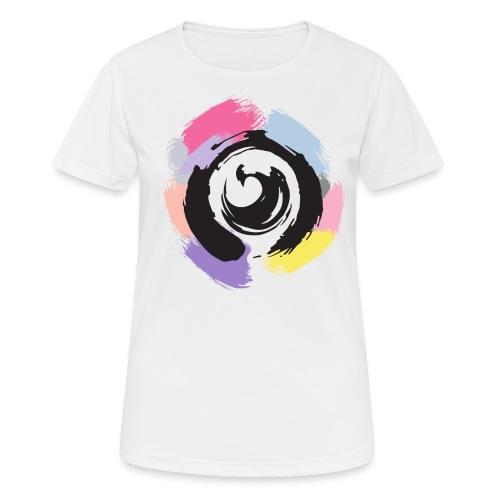 I Am Netlight (color) - Andningsaktiv T-shirt dam