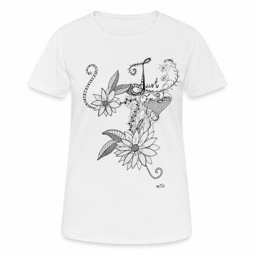 Just for you - naisten tekninen t-paita