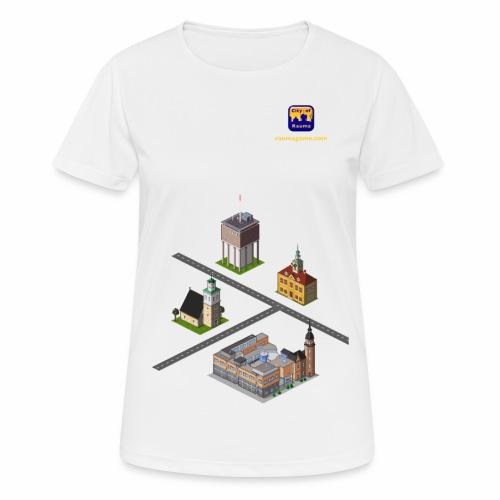 Raumagame mix - naisten tekninen t-paita