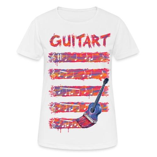 GuitArt - Women's Breathable T-Shirt