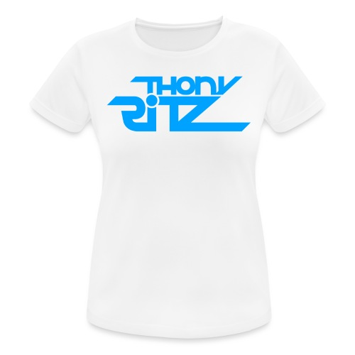 TR Logo Blue - T-shirt respirant Femme