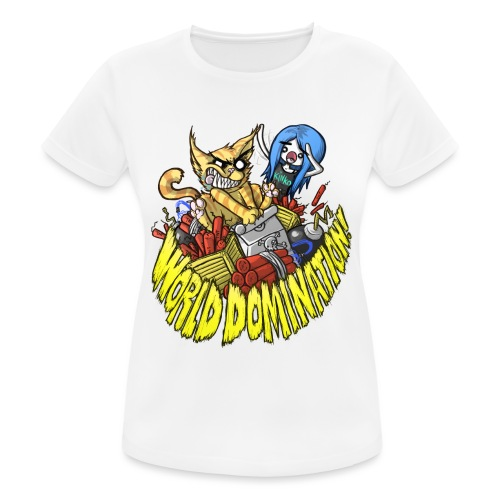 WORLD DOMINATION - Women's Breathable T-Shirt