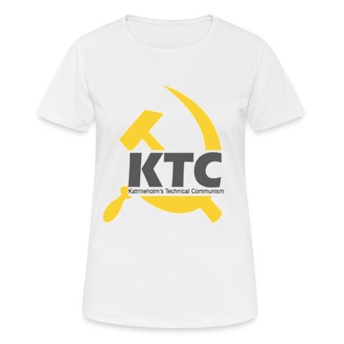 kto communism shirt - Andningsaktiv T-shirt dam