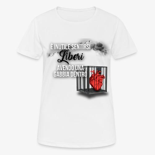 Rap Art ITA BRAND - Maglietta da donna traspirante