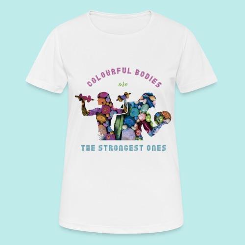 Vegetarian@s/vegan@s - Camiseta mujer transpirable