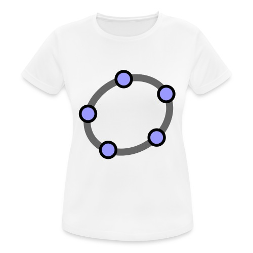 GeoGebra Ellipse - Women's Breathable T-Shirt