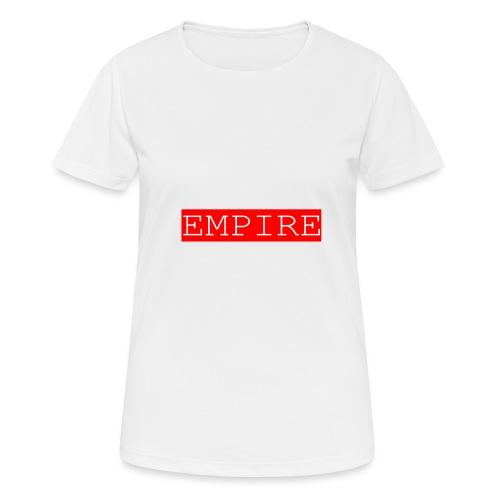 EMPIRE - Maglietta da donna traspirante