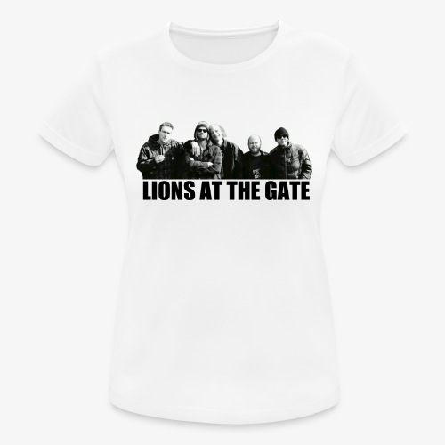 LIONS AT THE GATE SHIRT (WHITE) - Vrouwen T-shirt ademend actief