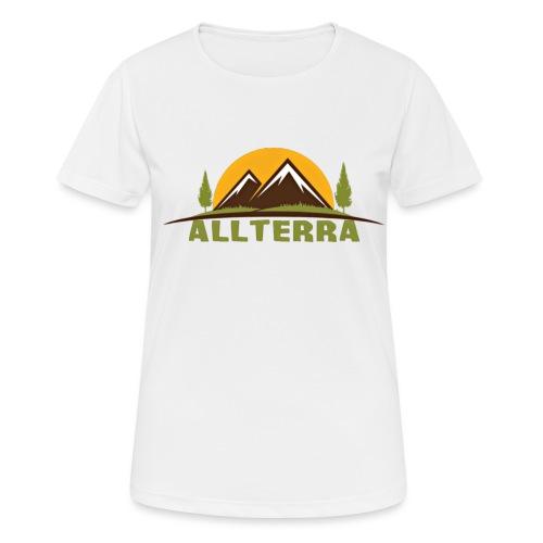 camiseta básica Alterra - Camiseta mujer transpirable
