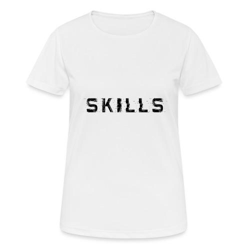 skills cloth - Maglietta da donna traspirante