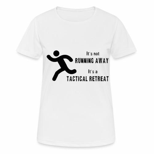 Tactical Retreat - Women's Breathable T-Shirt
