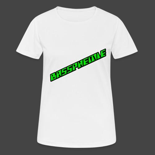 Bassphemie - Neongrün II - Frauen T-Shirt atmungsaktiv