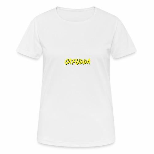 cafudda - Maglietta da donna traspirante