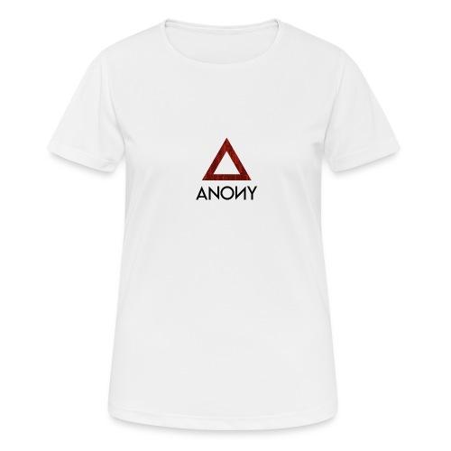 Anony Logo - Camiseta mujer transpirable