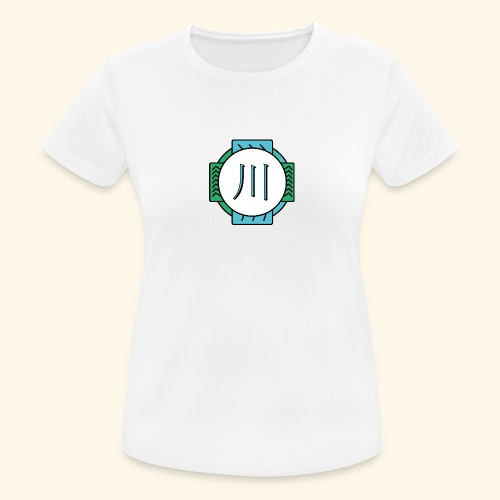 RIVER - T-shirt respirant Femme