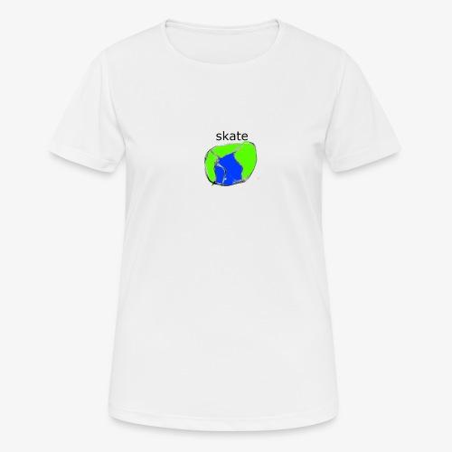 aiga cashier - Dame T-shirt svedtransporterende