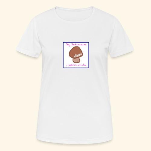 Soy Setamaniaco - Camiseta mujer transpirable