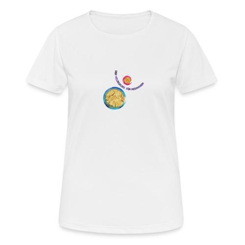 weltrekord - Frauen T-Shirt atmungsaktiv