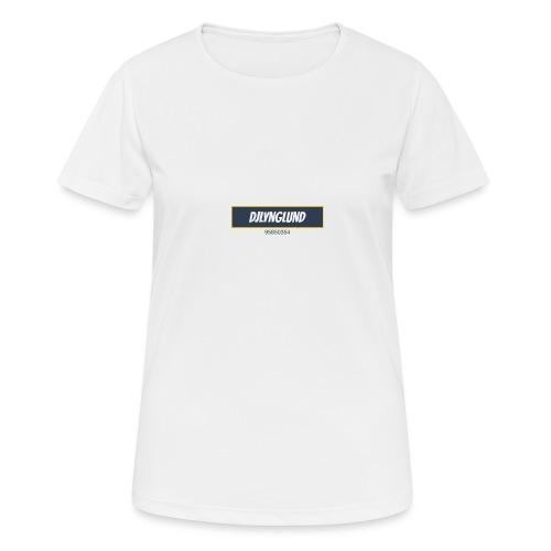 DJLynglund - Pustende T-skjorte for kvinner
