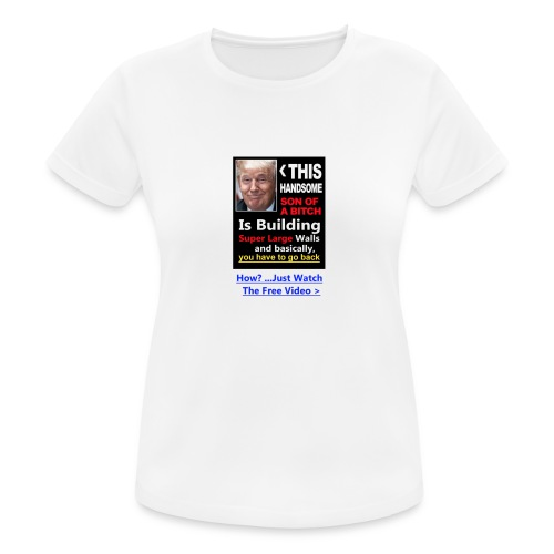 Trumped - Women's Breathable T-Shirt