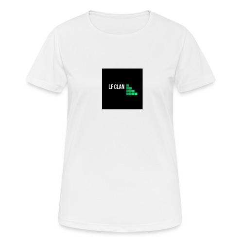LF CLAN - Andningsaktiv T-shirt dam