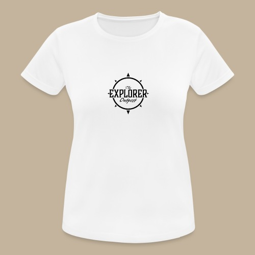 Black TEO Logo - Women's Breathable T-Shirt
