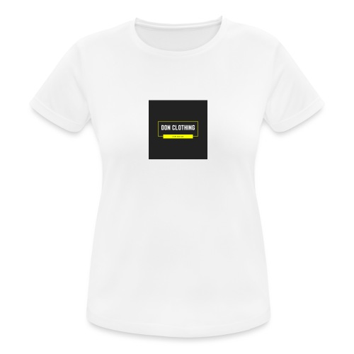 Don kläder - Andningsaktiv T-shirt dam