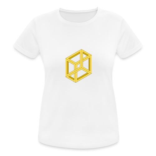 optical illusion - Frauen T-Shirt atmungsaktiv