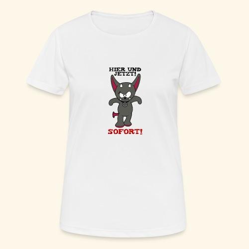 Zwergschlammelfen - Hier und Jetzt, Sofort! - Frauen T-Shirt atmungsaktiv