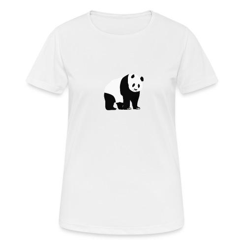 Panda - naisten tekninen t-paita