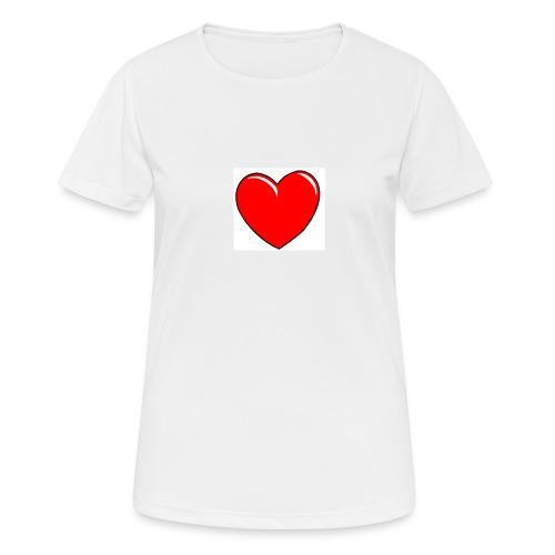 Love shirts - Vrouwen T-shirt ademend actief