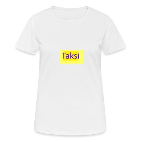 Taksi - naisten tekninen t-paita