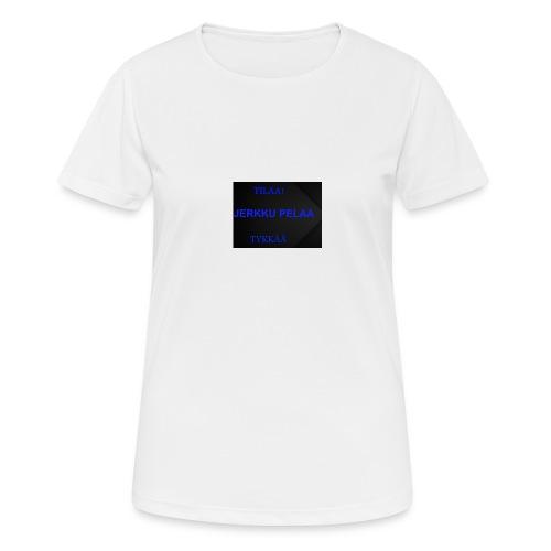 jerkku - naisten tekninen t-paita
