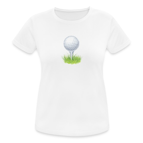 Golf Ball PNG Clipart - Camiseta mujer transpirable