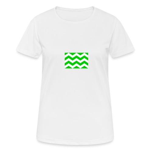 Vlag westland kassen - Vrouwen T-shirt ademend actief