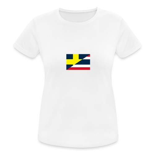 thailands flagga dddd png - Women's Breathable T-Shirt