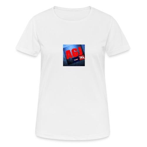 AGJ Nieuw logo design - Vrouwen T-shirt ademend actief