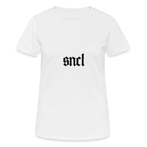 SNCL Retro Schwarz - Frauen T-Shirt atmungsaktiv
