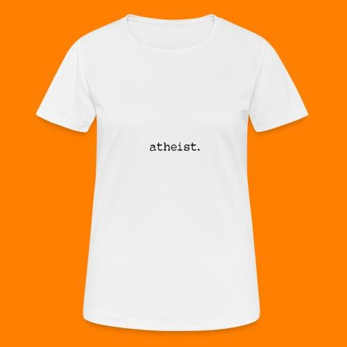 atheist BLACK - Women's Breathable T-Shirt