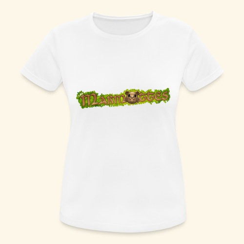 marmottes logo HD - T-shirt respirant Femme