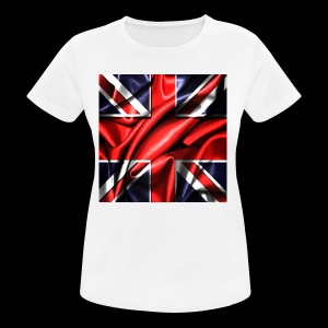 Union Jack design - Women's Breathable T-Shirt