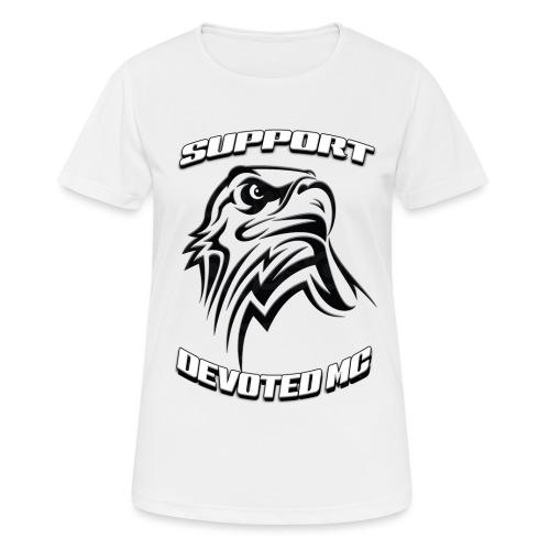 SUPPORT DEVOTEDMC E - Pustende T-skjorte for kvinner
