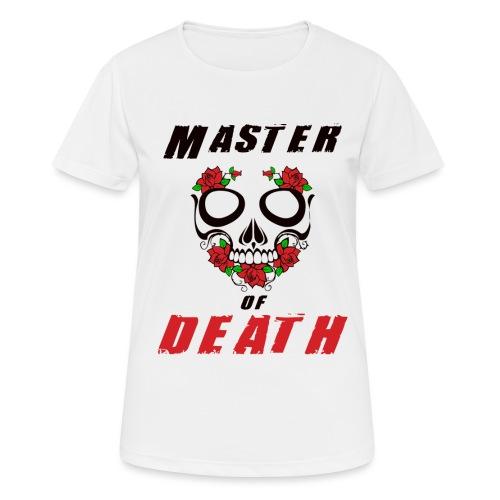 Master of death - black - Koszulka damska oddychająca