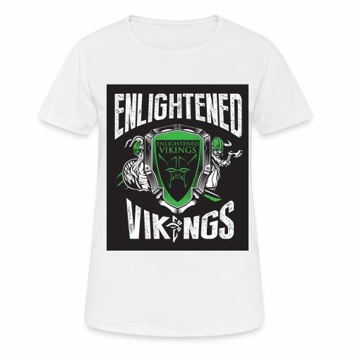 Enlightend Vikings - Pustende T-skjorte for kvinner