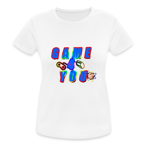 Game4You - Women's Breathable T-Shirt