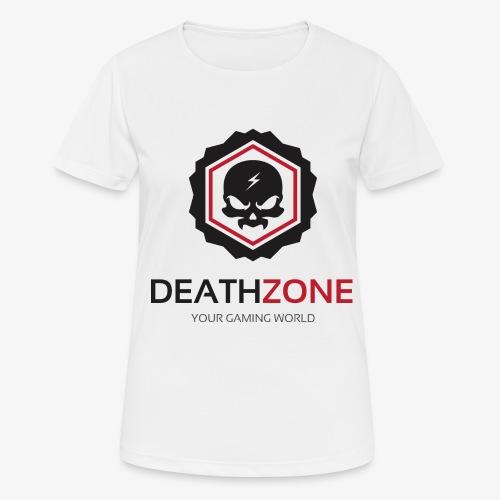 DeathZone Logo Avatar - Koszulka damska oddychająca