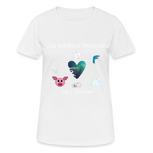 tee shirt maman - T-shirt respirant Femme