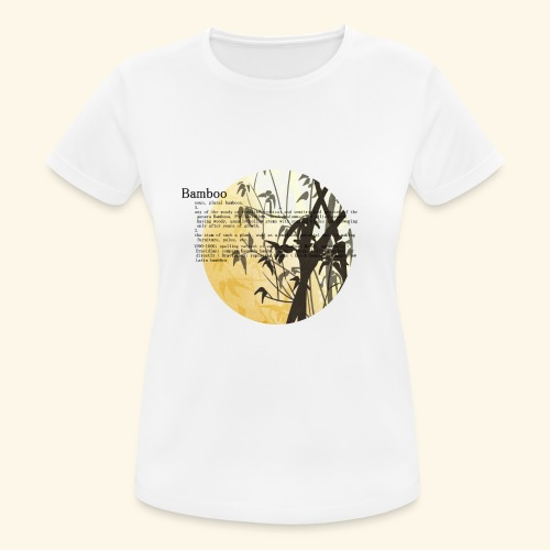 Bamboo - Andningsaktiv T-shirt dam