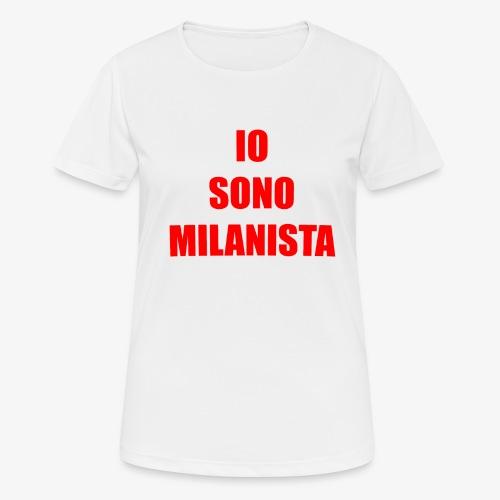 Per veri milanisti - Maglietta da donna traspirante